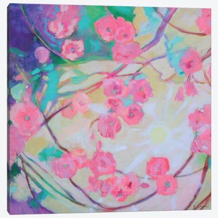 Cherry Blossom Sunshine Canvas Print #KBC67} by Kerri Blackman Art Print