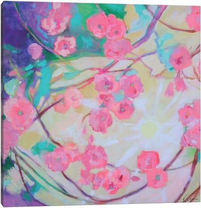 Cherry Blossom Sunshine Canvas Art Print