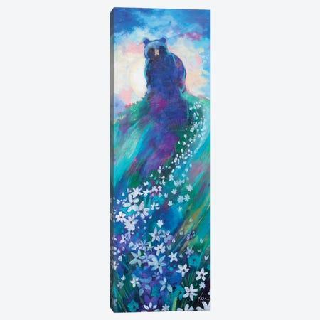Bear's Starry Way Canvas Print #KBC70} by Kerri McCabe Canvas Art Print