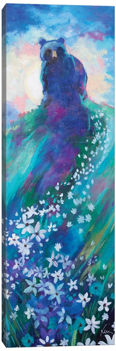 Bear's Starry Way Canvas Art Print