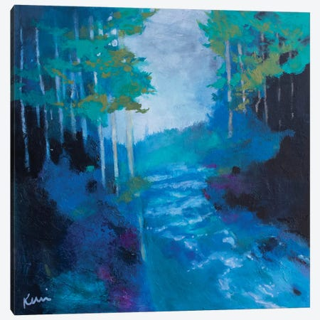 Living Water Canvas Print #KBC71} by Kerri Blackman Canvas Art Print