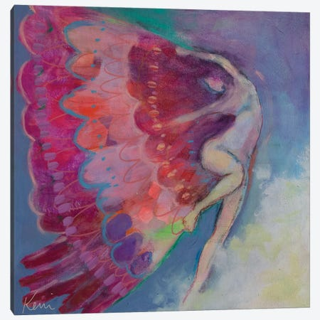 Unfurling Canvas Print #KBC79} by Kerri Blackman Canvas Print