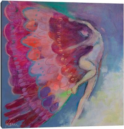 Unfurling Canvas Art Print