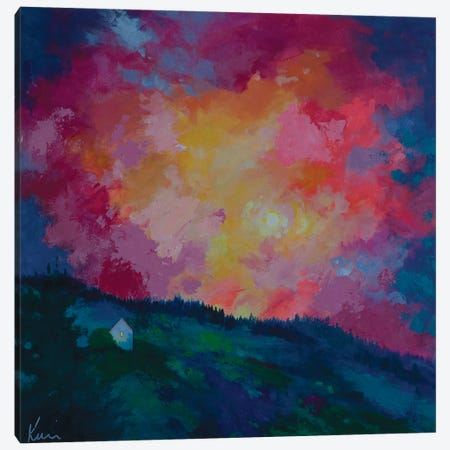 End Of The Day Canvas Print #KBC80} by Kerri Blackman Canvas Art