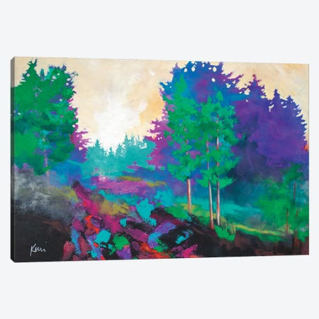 Afternoon Sunlight Canvas Print #KBC94} by Kerri Blackman Canvas Art