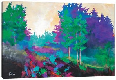 Afternoon Sunlight Canvas Art Print