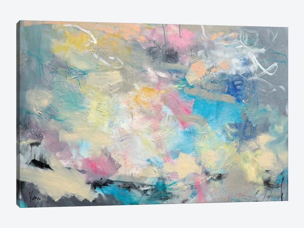 A Brisk Beach Wind by Kerri Blackman 1-piece Art Print
