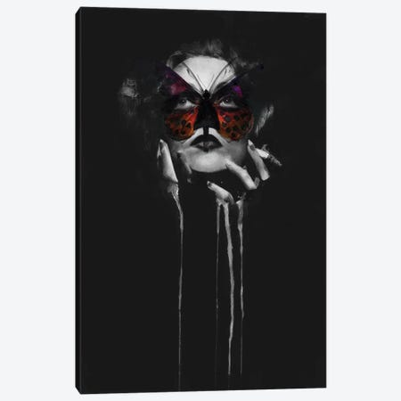 Marlene Dietrich - Butterfly Light Canvas Print #KBE17} by Kerry Beall Canvas Artwork