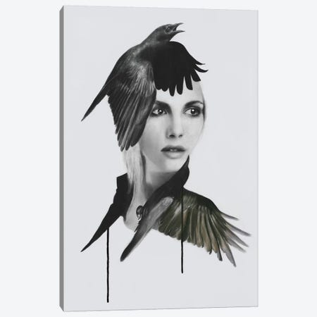 Morrigan Canvas Print #KBE18} by Kerry Beall Art Print
