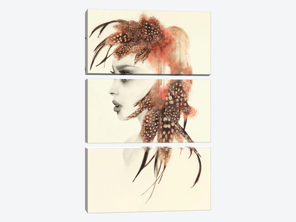Athena by Kerry Beall 3-piece Canvas Print