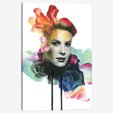 Princess Of Monaco Canvas Print #KBE22} by Kerry Beall Canvas Art