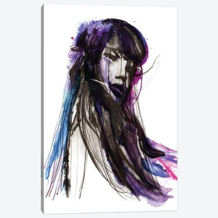 Sea Canvas Print #KBE24} by Kerry Beall Canvas Art Print