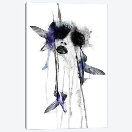 Song Bird II Canvas Print #KBE26} by Kerry Beall Art Print