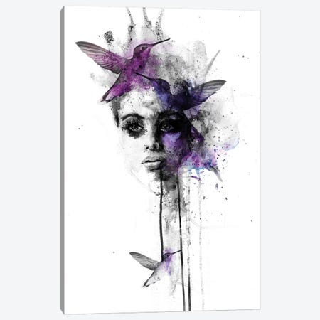 Song Bird III Canvas Print #KBE27} by Kerry Beall Art Print