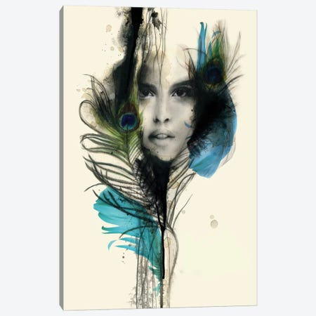 Watchful Canvas Print #KBE29} by Kerry Beall Canvas Wall Art