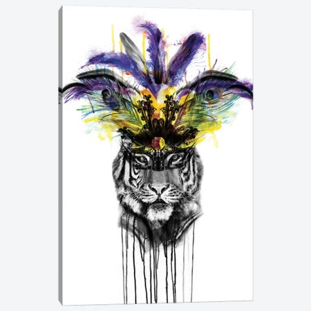 Carnival Canvas Print #KBE4} by Kerry Beall Canvas Artwork