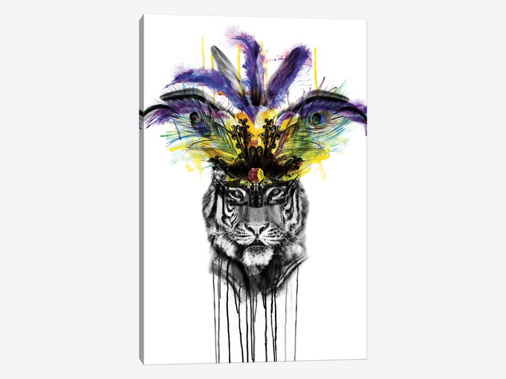 Carnival by Kerry Beall 1-piece Canvas Art