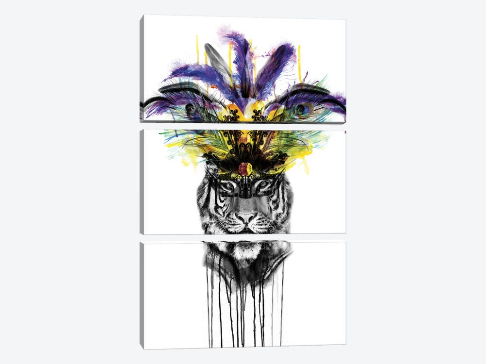 Carnival by Kerry Beall 3-piece Canvas Wall Art