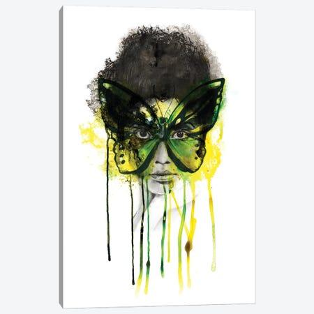 Emerald Canvas Print #KBE7} by Kerry Beall Canvas Artwork