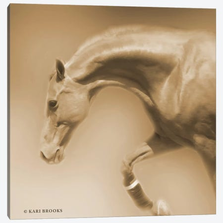 Arch Sepia Canvas Print #KBK15} by Kari Brooks Canvas Artwork