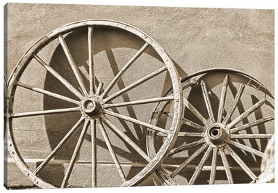 Like a Wagon Wheel Canvas Art Print