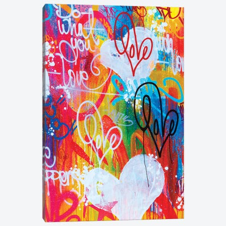 Do What You Love Canvas Print #KBM19} by KBM Canvas Art Print