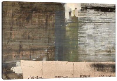 Floor Plan II Canvas Art Print
