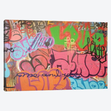 LA Amor Canvas Print #KBM26} by KBM Canvas Art Print