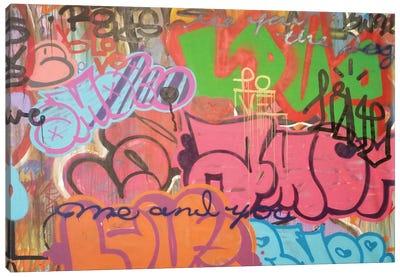 LA Amor Canvas Art Print