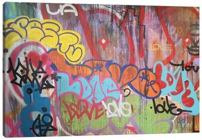 LA Graf Love Canvas Art Print