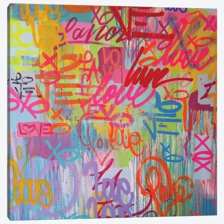 Love 4 All Canvas Print #KBM31} by KBM Art Print