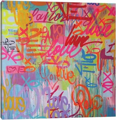 Love 4 All Canvas Art Print