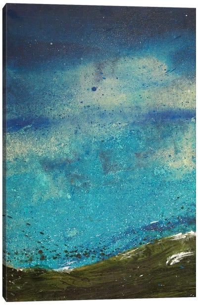Night Waves I Canvas Art Print
