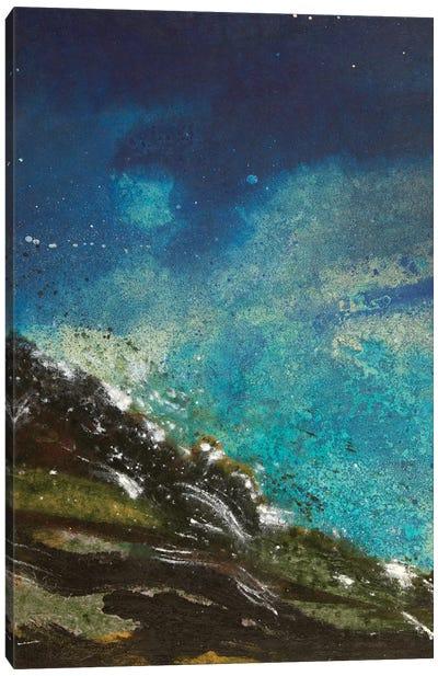 Night Waves II Canvas Art Print