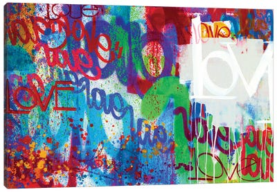 One Love I Canvas Art Print