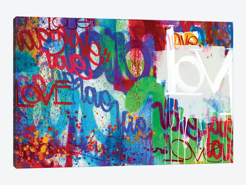 One Love I by KBM 1-piece Canvas Print