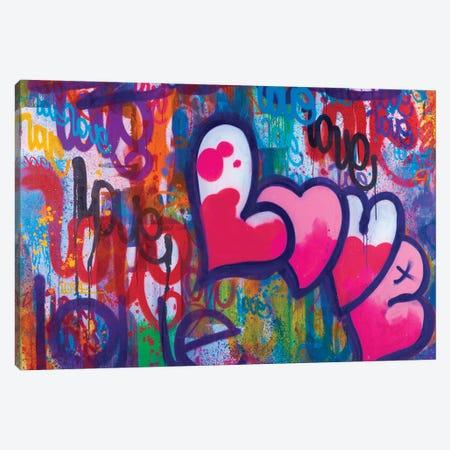 One Love IV Canvas Print #KBM45} by KBM Canvas Print