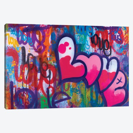 One Love IV Canvas Print #KBM45} by KBM Canvas Print