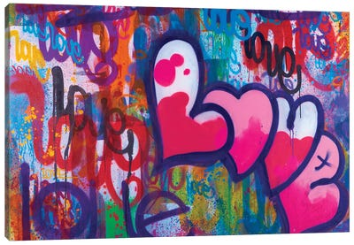 One Love IV Canvas Art Print