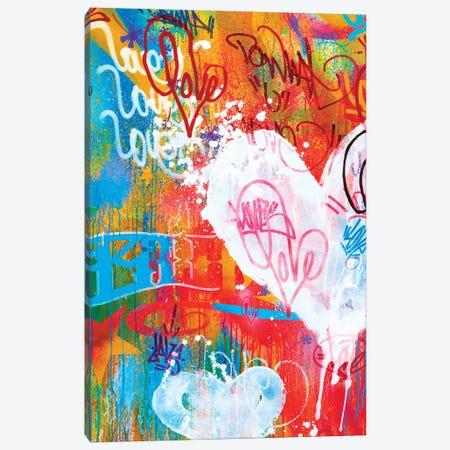 One Love V Canvas Print #KBM47} by KBM Art Print