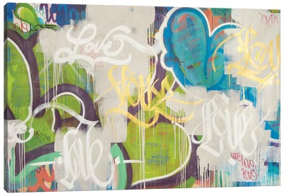 One Love VI Canvas Art Print