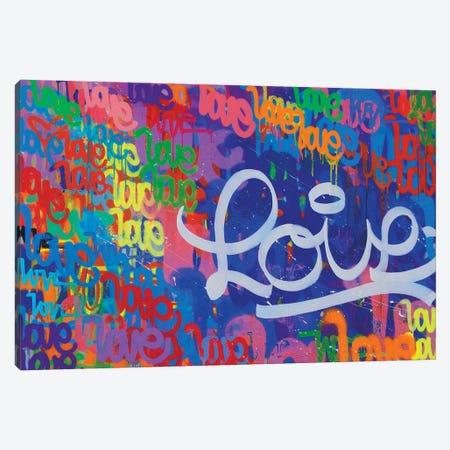 One Love VII Canvas Print #KBM49} by KBM Canvas Wall Art