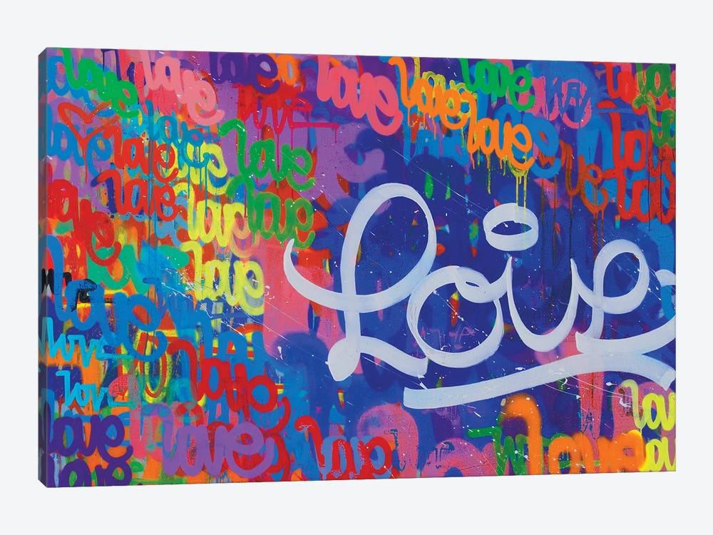 One Love VII 1-piece Canvas Artwork