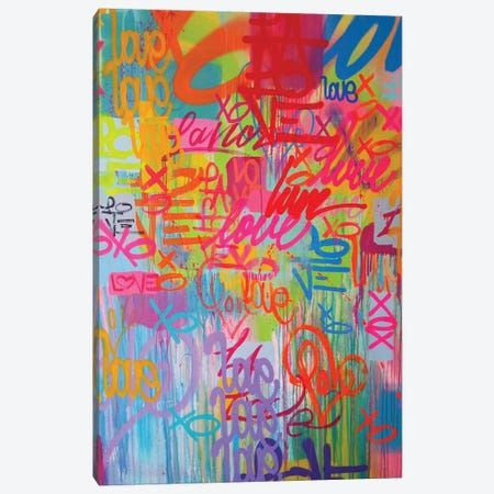 One Love VIII Canvas Print #KBM50} by KBM Canvas Art Print