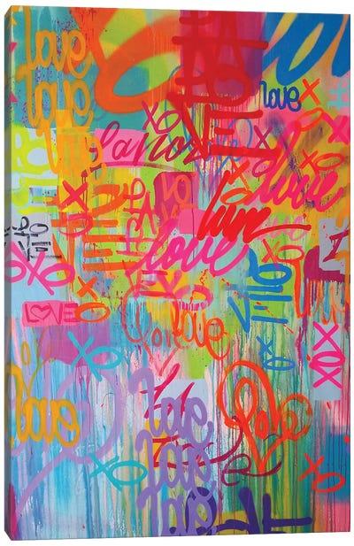 One Love VIII Canvas Art Print