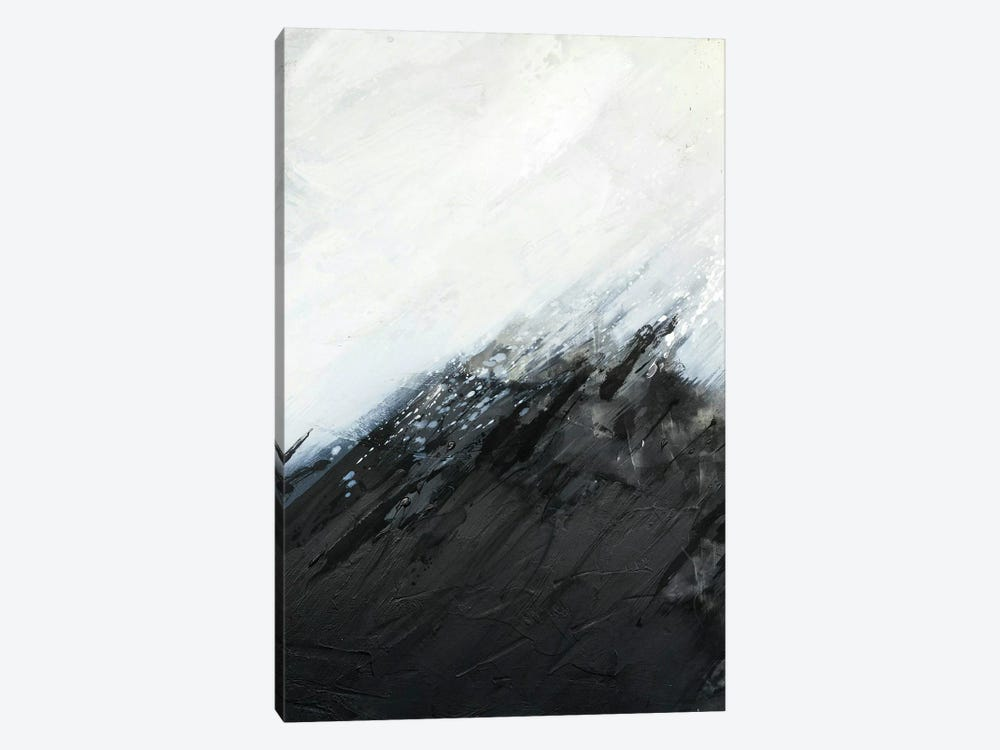 White Snow by KBM 1-piece Canvas Wall Art