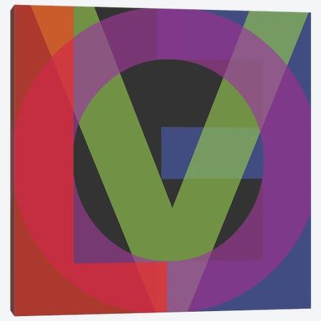 Google Love II Canvas Print #KBM6} by KBM Canvas Art
