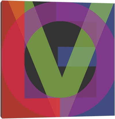 Google Love II Canvas Art Print