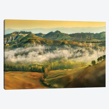 Autumn... Canvas Print #KBR10} by Krzysztof Browko Canvas Artwork