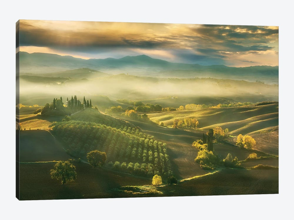 Autumn... by Krzysztof Browko 1-piece Canvas Art